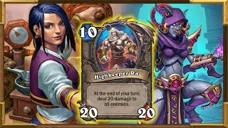 Hearthstone: Highkeeper Ra 40 DMG OTK | Mogu Cultist As Shaman | Saviors Of Uldum New Crazy Combos