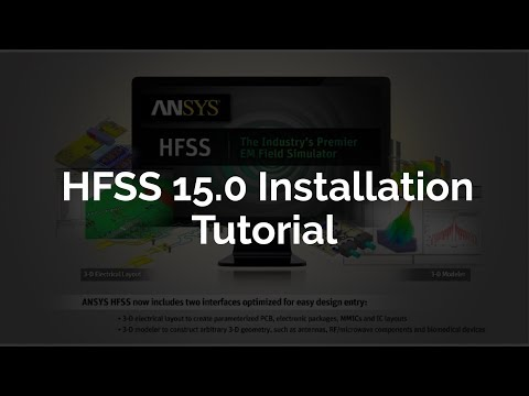 How to Install HFSS 15 0 with libraries || HFSS installation Tutorial
