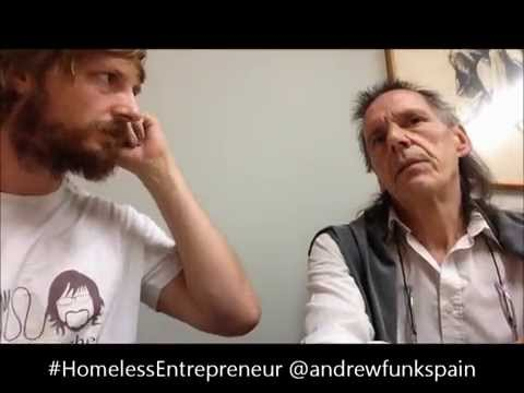 "Conversation with Hans ""I'd rather be homeless in Spain than have a home in Germany"""