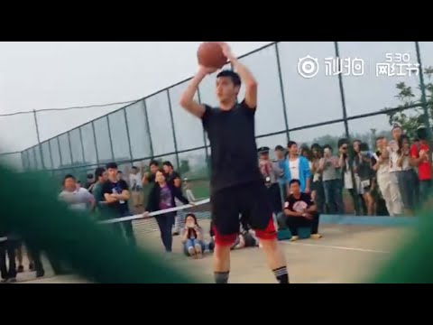 160530 Kris Wu playing Basketball (Fancam Compilation)