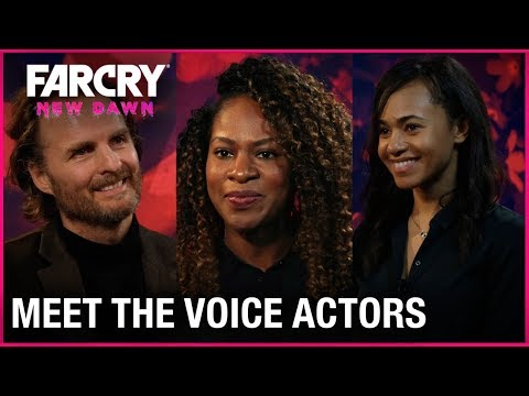 Far Cry New Dawn: Meet the Voice Actors Behind The Twins | Ubisoft [NA]