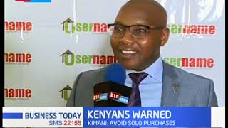 Kenyans have been advised to purchase lands through property selling  companies
