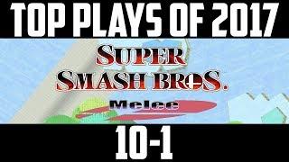 Video SSBM Top 10 Plays of 2017 - Part 5/5  Super Smash Bros. Melee download MP3, 3GP, MP4, WEBM, AVI, FLV Juli 2018