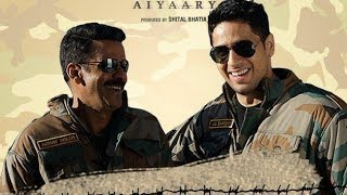 Sidharth Malhotra And Manoj Bajpayee Have A Face Off In 'Aiyaary' | Bollywood Buzz