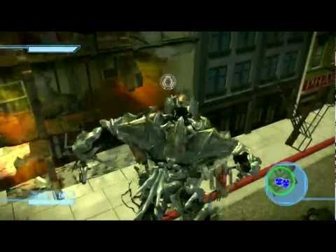 Transformers: The Game Walkthrough: Decepticons - City of The Machines - Devastation