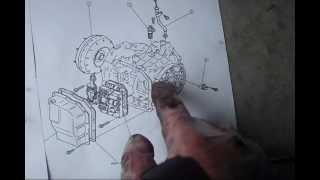 mazda 626 turbine shaft speed sensor location removal