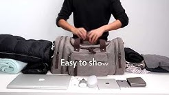 03c6d07e83 ZUO LUN DUO กระเป๋าสัมภาระ กระเป๋าเดินทาง กระเป๋าฟิตเนส Travel Canvas Bag  รุ่น 8642 - Duration  0 46.