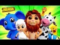 Animal Sound Song | Nursery Rhymes For Kids | Cartoonss by Farmees