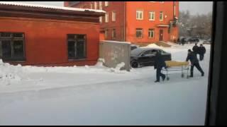 Иркутск. Областной онкологический диспансер.