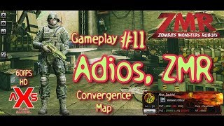 "Zombies Monsters Robots Gameplay #11 ""Adios ZMR""  60FPS en Español Pulse Rifle Mars Epic"