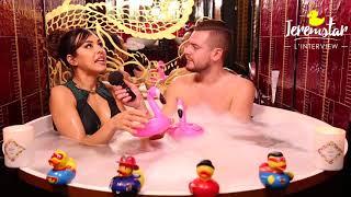 Yamina (La villa des coeurs brisés 3) dans le bain de Jeremstar - INTERVIEW