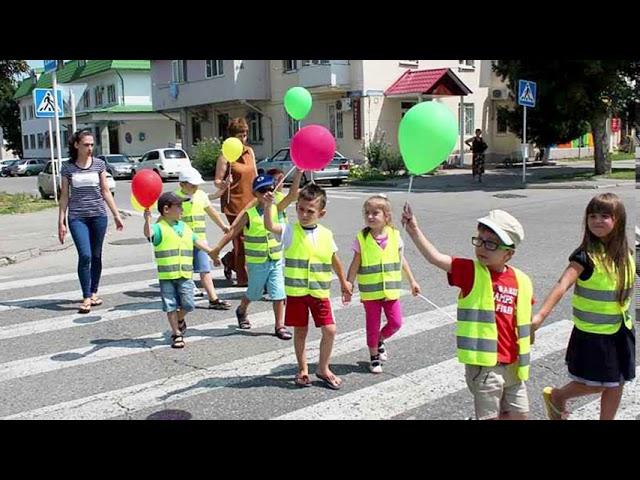 ПДД РФ.  Урок № 14 - Обязанности пешеходов