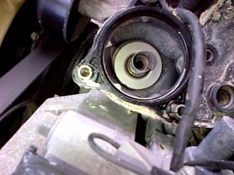 Changing Upper And Lower Thermostat Housing 2005 Part 2