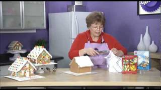Icing A Gingerbread House Roof