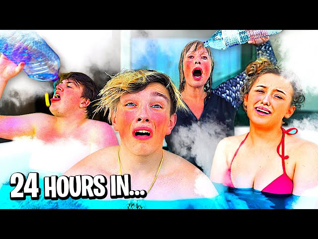 Last To Leave Hot Tub Wins $20,000 - Challenge