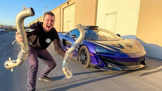 LOUD Exhaust For My Mclaren!!