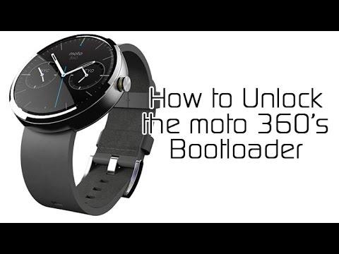 How to Unlock the Motorola Moto 360 Smartwatch Bootloader