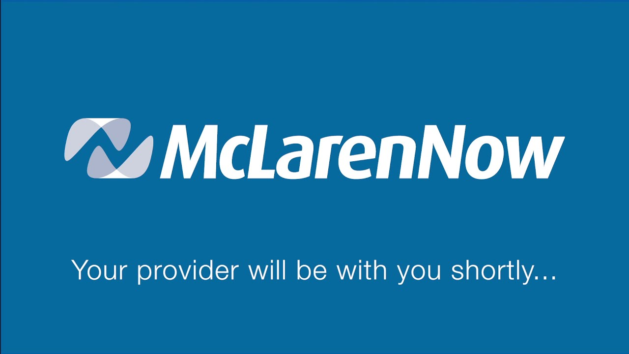 About McLarenNow teleadoc virtual urgent care