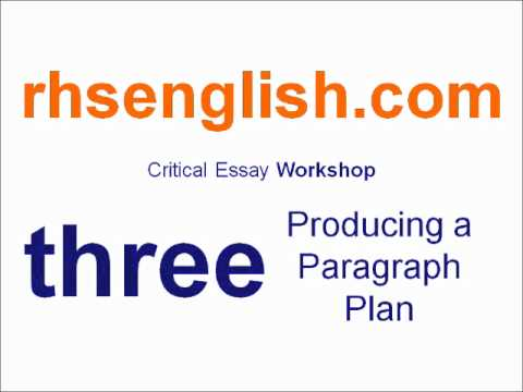Higher english critical essay