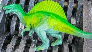 Shredding Dinosaurs #5!  Dinosaur Family gets Shredded
