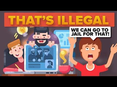 Illegal Things That YOU Do Every Day