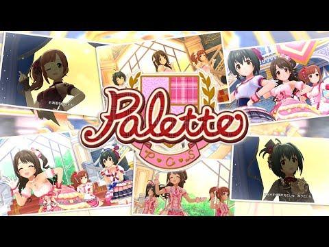 「デレステ」Palette (Game ver.) 小日向美穂、島村卯月、五十嵐響子 SSR 1-3周目