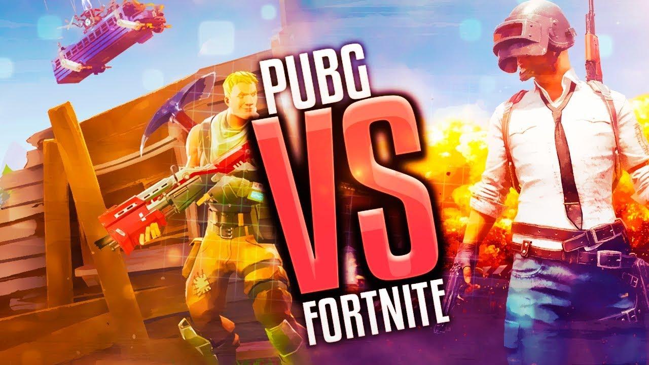 Fortnite Vs Pubg: Fortnite BR Vs PUBG-comparativa Entre Playerunknown's