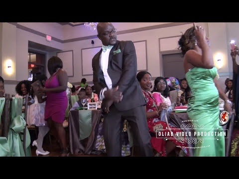 Hot!!! African Wedding Entrance in Texas