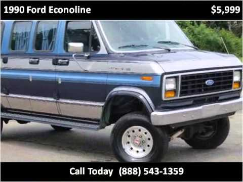 1990 Ford Econoline Used Cars Walden NY