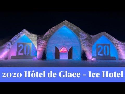 A tour of Quebec's 2020 Hôtel de Glace - Ice Hotel