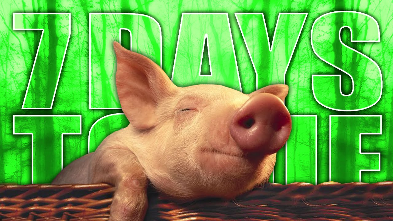 PIGGY IN THE BASKET ★ 7 Days to Die (48): Zombies (Zombie Games)
