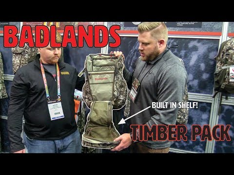 BADLANDS TIMBER PACK FOR WHITETAIL/TREESTAND HUNTERS - 2019 ATA