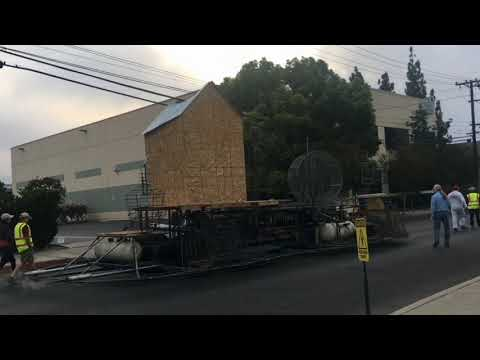 2019 Rose Parade Burbank Tournament of Roses Association (T1) inspection and road test 10-6-2018