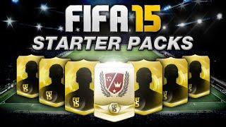 FIFA 15 STARTER PACKS w/ LEGEND SHOT & NEW 5 STAR SKILLER - FIFA 15 ULTIMATE TEAM PACK OPENING