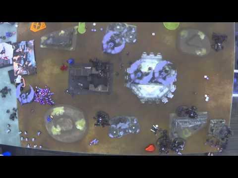 Warhammer 40k Battle Report 022: TJ Myers (Tau/Tau) VS Justin Cook (Necron/CSM)