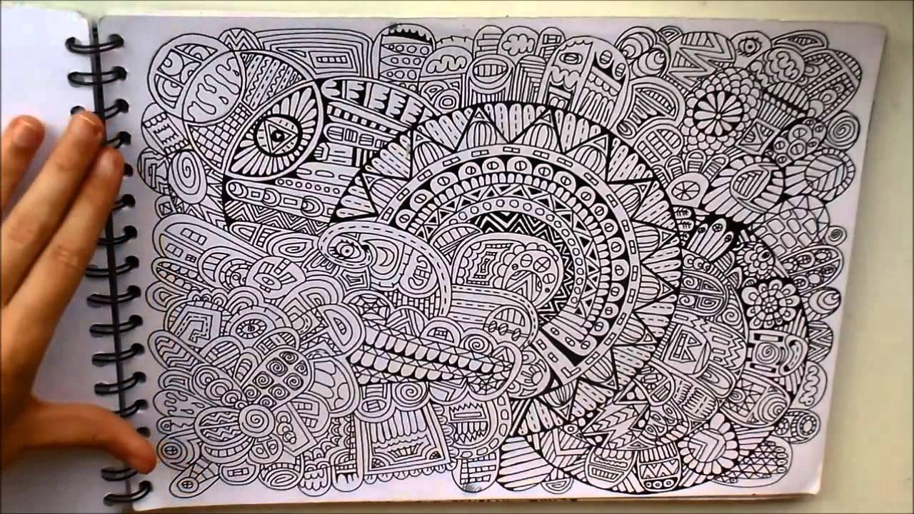 Carnet dessin 3 doodle disney volution you tube - Doodle dessin ...