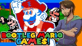 BOOTLEG MARIO GAMES on the Famicom/NES - SpaceHamster
