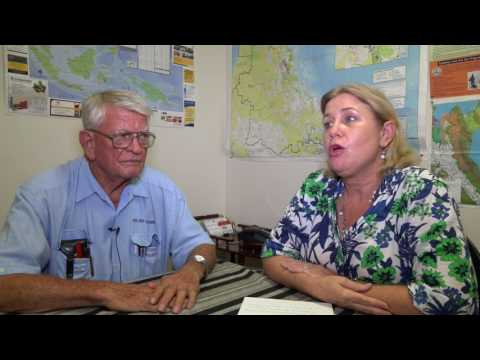 Ron Crew President and Emma Thirkell Secretary, Cairns Port Development Inc.