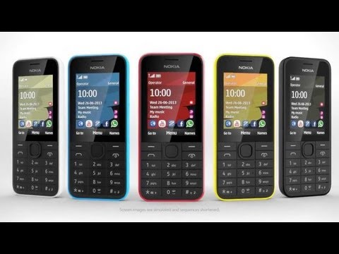 Обзор Nokia 208