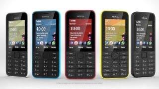 Обзор Nokia 208(Простой телефон Nokia 208 также получит модификацию Nokia 208 с двумя SIM-картами и Nokia 207, в которой не будет камеры...., 2013-08-27T09:38:17.000Z)