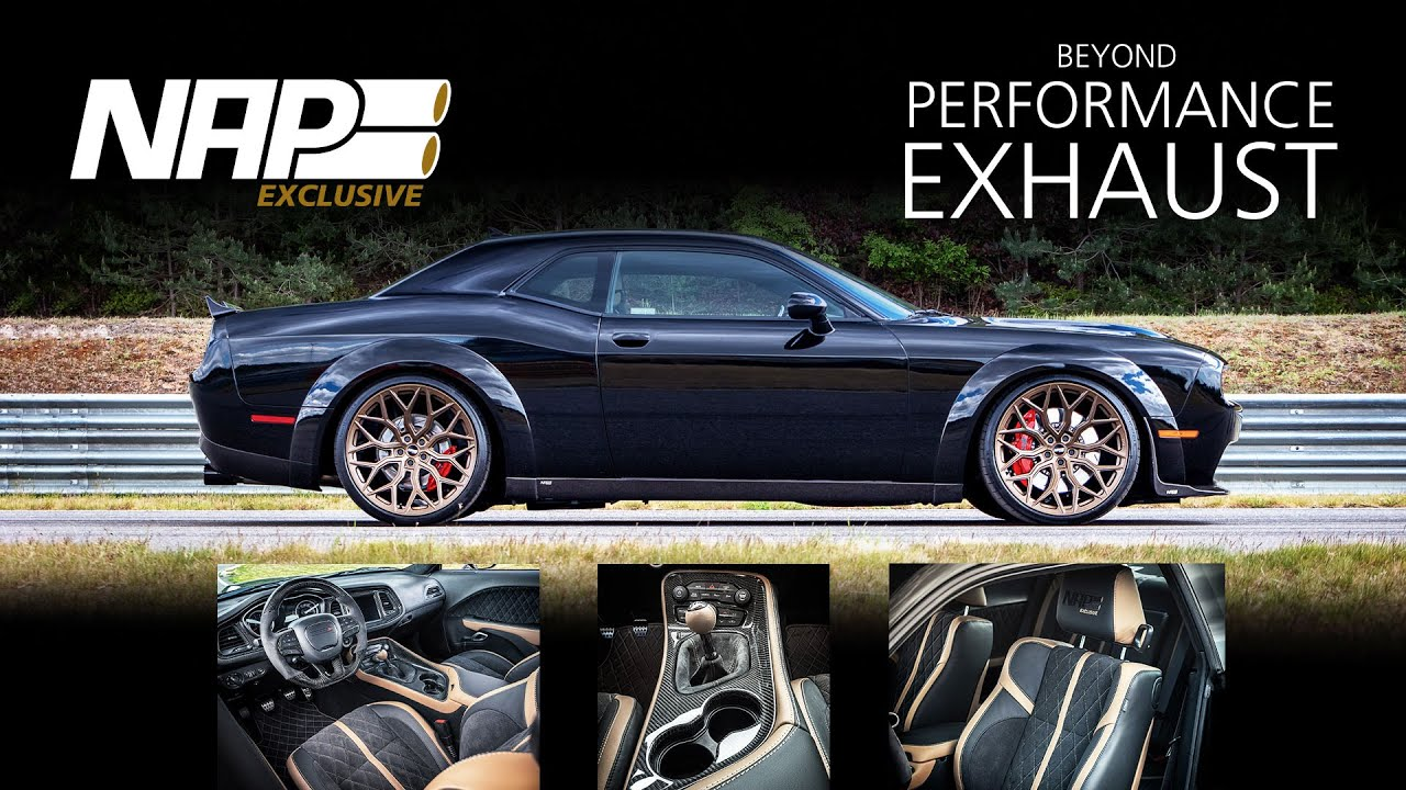 nap exclusive dodge challenger beyond performance exhaust