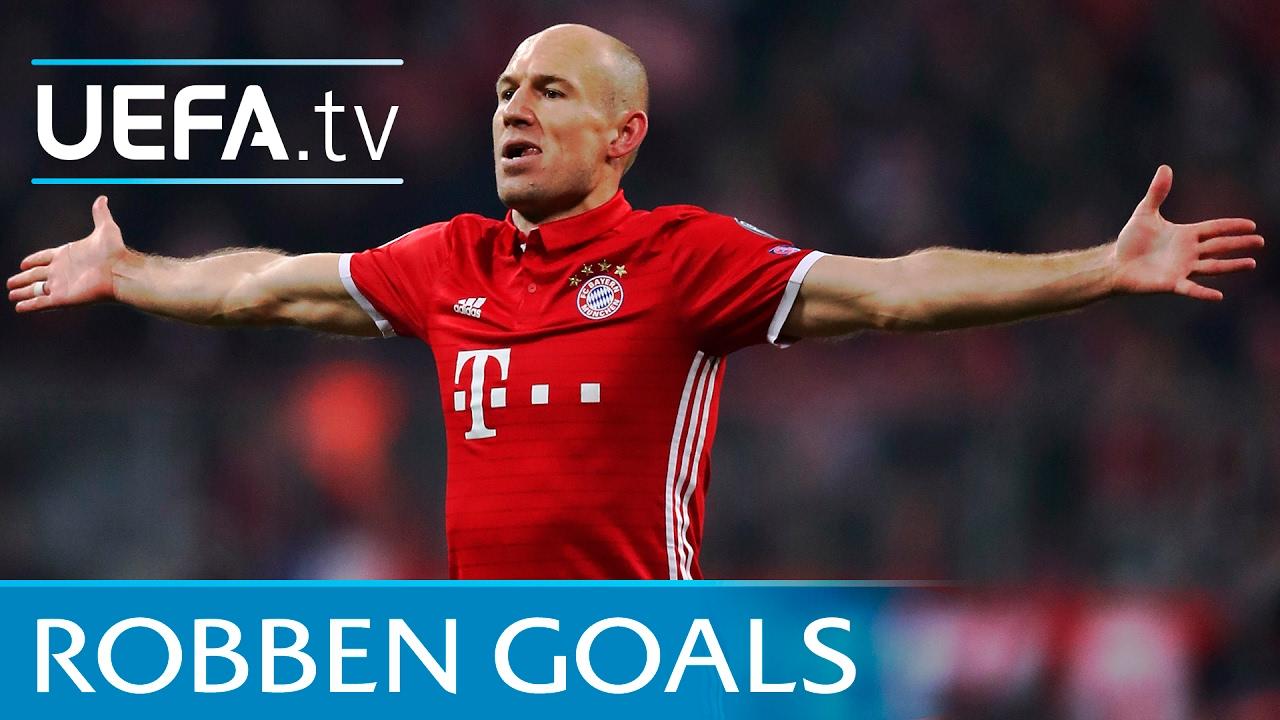 Arjen Robben 5 trademark goals