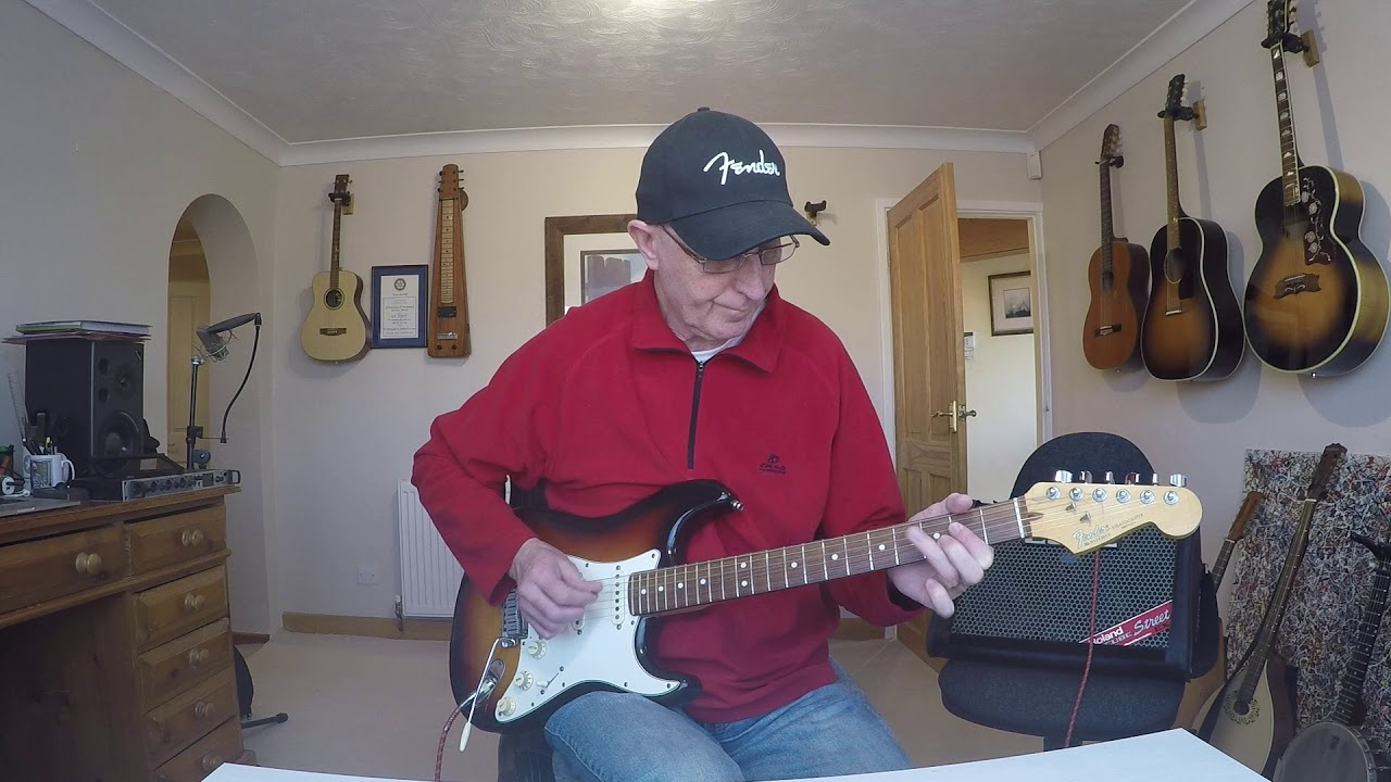 cool electric guitar riff of the day 1 pretty hammering and pulling country rock riff youtube. Black Bedroom Furniture Sets. Home Design Ideas
