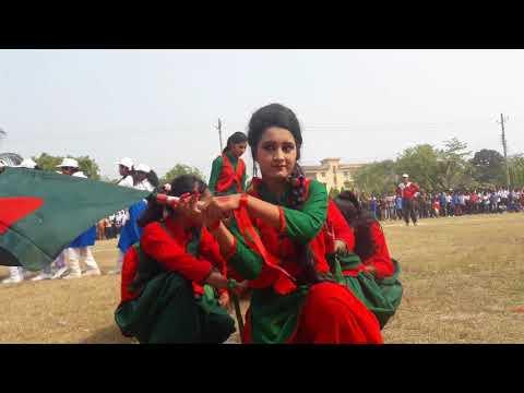 জয় বাংলা বাংলার জয়, জয় বাঙ্গালীর জয়   (তারুয়া বালিকা উচ্চ বিদ্যালয়)