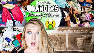 HOARDER!!! MESSY ROOM CLEAN UP! SATISFYING CLEAN WITH ME! CLEANING MOTIVATION! LIVING WITH CAMBRIEA!