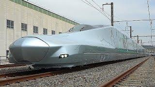 時速360キロ運転、次世代新幹線の試験車両が完成