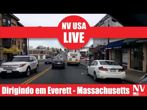 LIVE - Dirigindo em Everett - Massachusetts