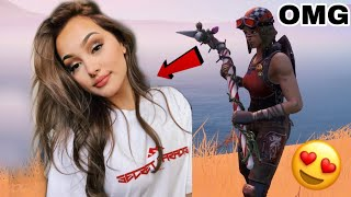 I LOVE myself in the BEAUTIFUL Fortnite GIRL with RENEGADE RAIDER and what happened..! Fortnite