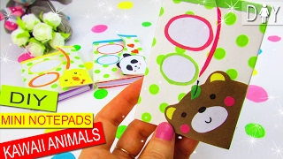 DIY NOTEPADS KAWAII