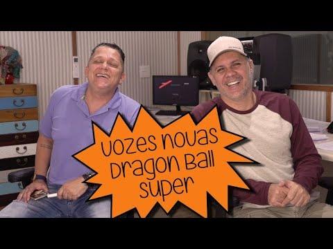 Escolhendo Novas Vozes para Dragon Ball Super